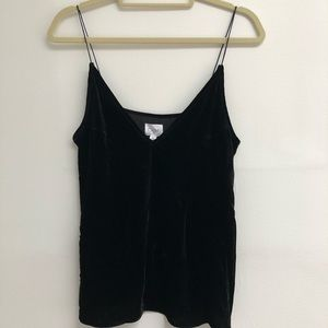 CAMI NYC velvet top